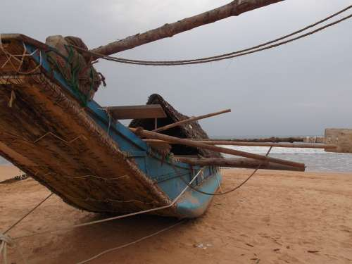 Sri Lanka Boat Sea