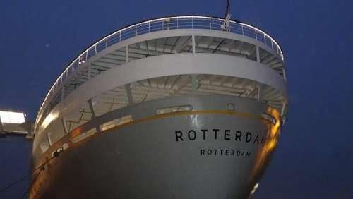 Ss Rotterdam Rotterdam Ship Cruise Boat
