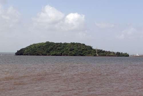 St Jacinto Island Goa Arabian Sea Island India