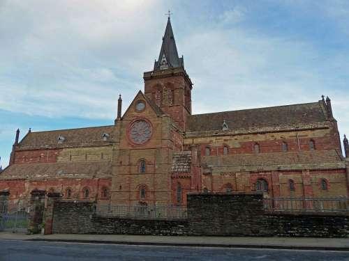 St Magnus Katerdral Orken Islands Kirkwall