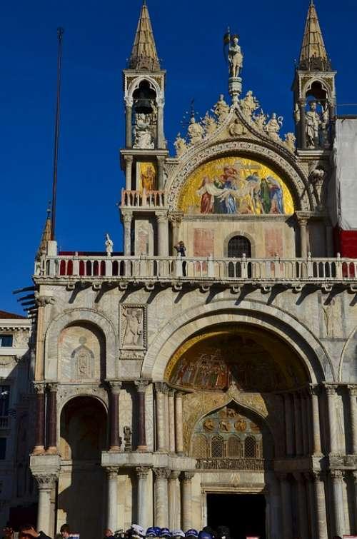 St Mark'S Square Venice Italy Dom