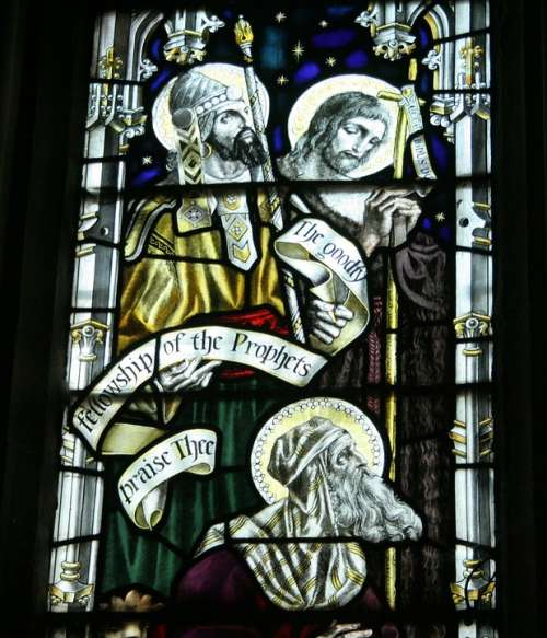 St Michael'S Church Stained Glass Window