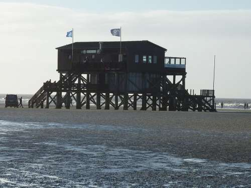 St Peter Obi Watts Wadden Sea North Sea Building