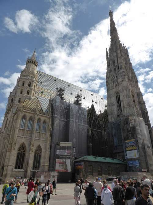St Stephen'S Cathedral Vienna Austria Downtown