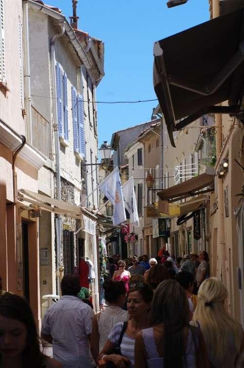 St Tropez Streets Summer Human