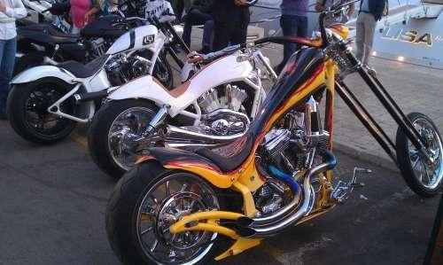 St Tropez Motorcycles Harley Davidson Vehicle