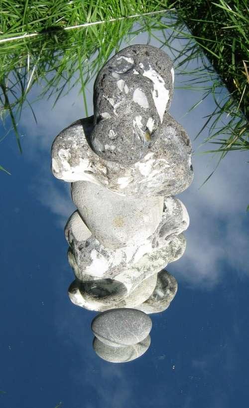 Stack Stones Stones Beach Baltic Sea Tower