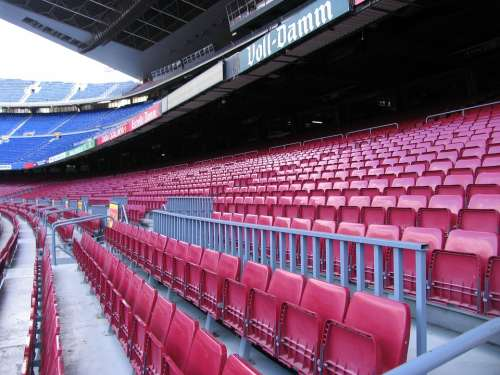 Stadium Barcelona Grandstand Sit Football Rank