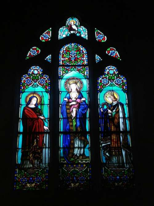 Stained Glass Church Cathedral Light Color