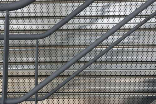 Staircase Tubing Wall Steel