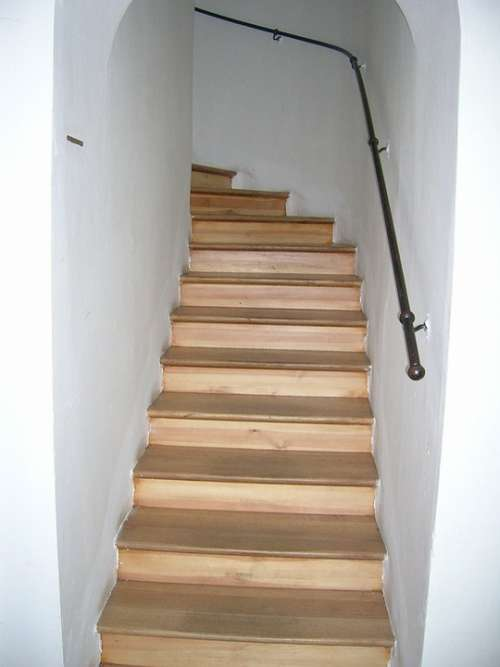 Stairs Rise Gradually Staircase Stair Step