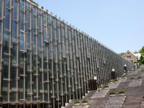 Stairs University Ewha Ewha Womans University Seoul
