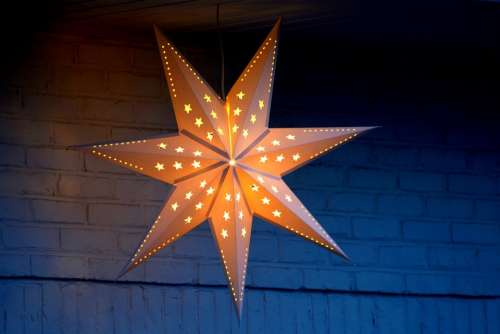 Star Decoration Light Christmas Romantic Lights