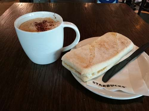 Starbucks Coffee Sandwich