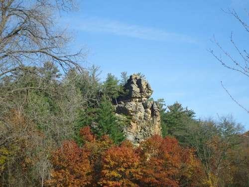 State Park Governor Dodge'S Sky Tree Rock