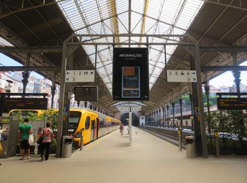 Station Porto Portugal