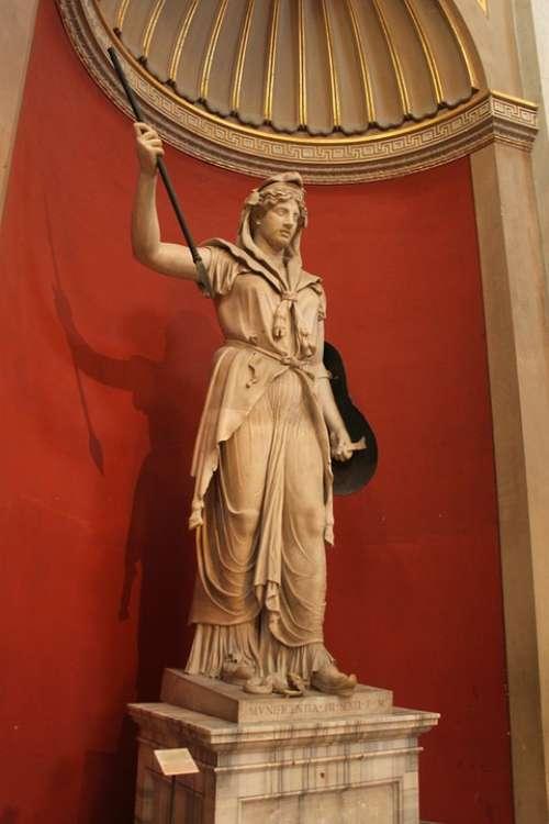 Statue Soldier Romano