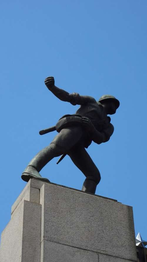 Statue São Carlos São Paulo Brazil Art
