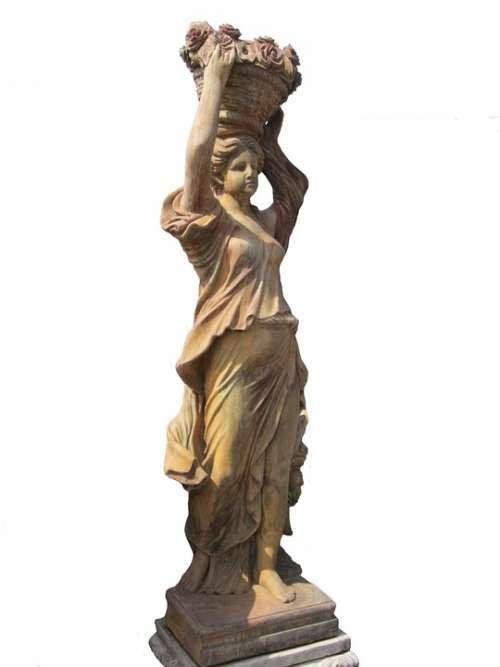 Statue Garden Garden Figurines Woman Garden Statue
