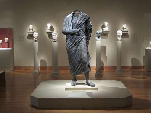 Statue Marcus Aurelius Sculpture Roman Soldier