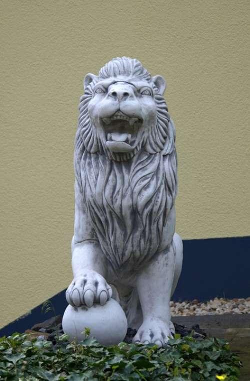 Statue Lion Stone Figure Figure Sculpture