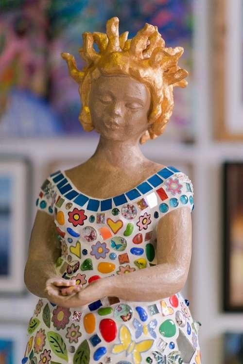 Statue Woman Goddess