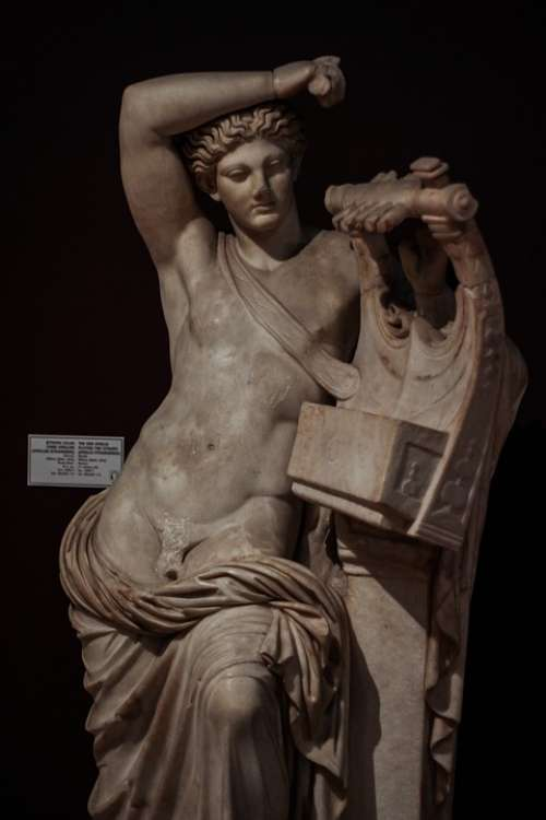 Statue Image Apollo God Mythology