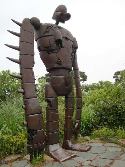 Statue Cartoon Giant