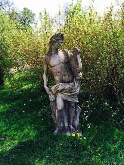 Statue Stone Figure Sculpture Steinmetz