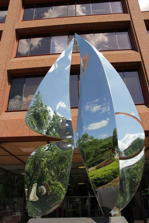 Statue Bright Mirror