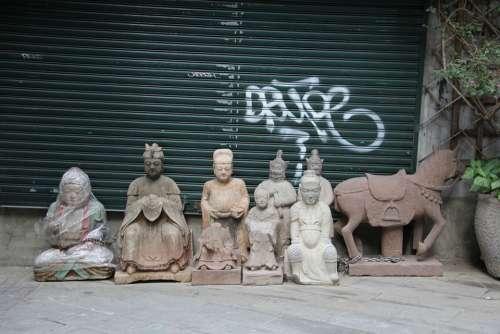 Statues Market Hong Kong