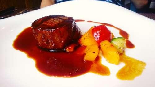 Steak Buffet Restaurant Food