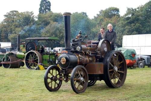 Steam Engine Traction Steam Engine Vintage Smoke