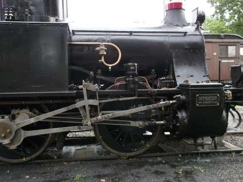 Steam Locomotive Railway Train