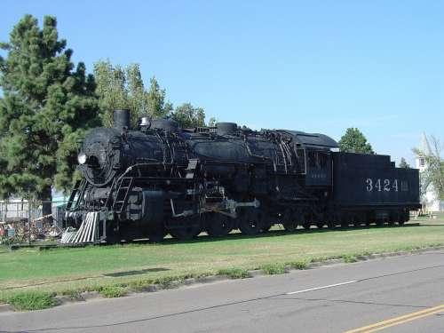 Steam Locomotive Locomotive Trains Railroad Coal