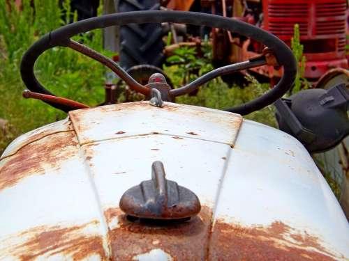 Steering Wheel Tractor Machine Equipment Machinery
