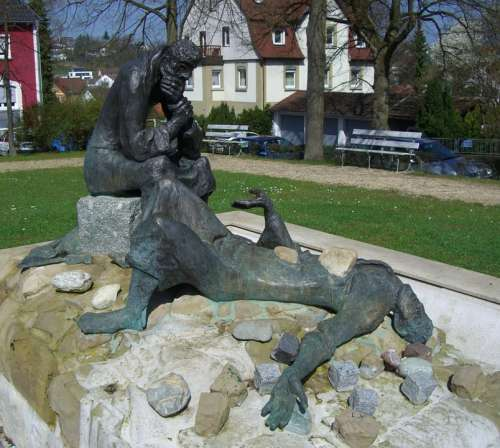 Stephen Of Saulus Fountain Bronze Winner Bait
