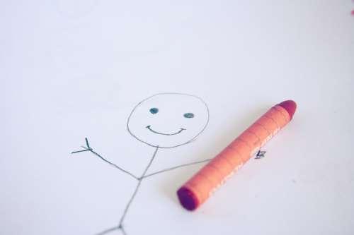Stick Figure Stickman Smiley Drawing Child Sketch