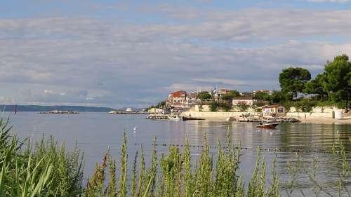 Stobric Croatia Dalmatia Coast Mediterranean Bay