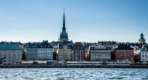 Stockholm Sweden City Architecture Old Scandinavia