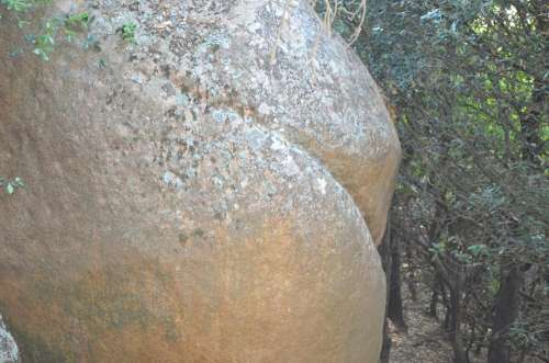 Stone Butt Ass Chunks Of Granite Stones
