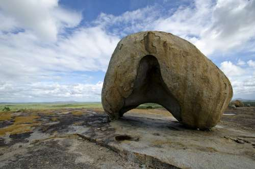 Stone Helmet Flooring Cariri Landscape