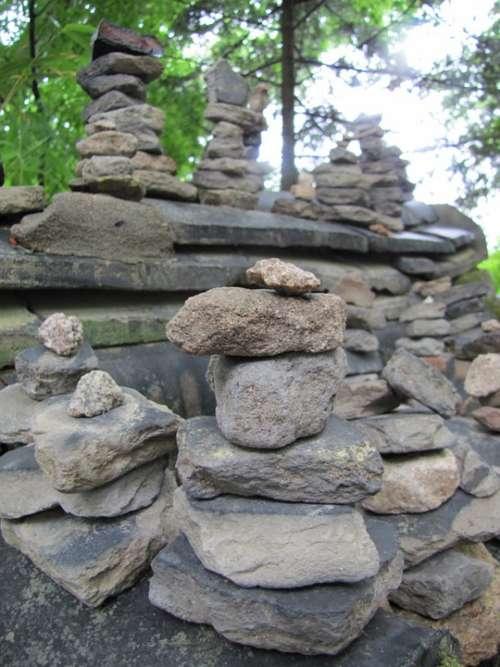 Stone Boulder Stone Tower Rock Dirt Wish Racing