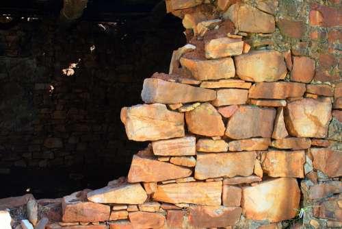 Stone Built Ruin Ruin Building Stones Dilapidated