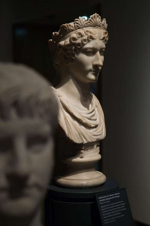 Stone Bust Agrippina Oxford Oxfordshire