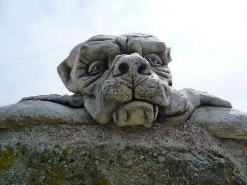 Stone Sculpture Ogre Symbolism Sculpture Statue