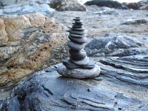 Stone Stack Stones Pebbles Stone Sculpture Rock