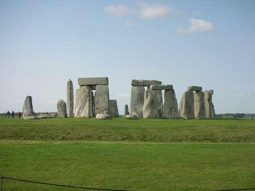 Stonehenge Megalithic Stone Circle Cromlech Mystic