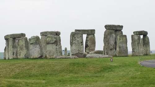 Stonehenge Stone Circle England Megalithic Structure