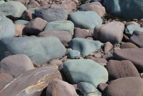 Stones Beach Pebbles Coast Sea